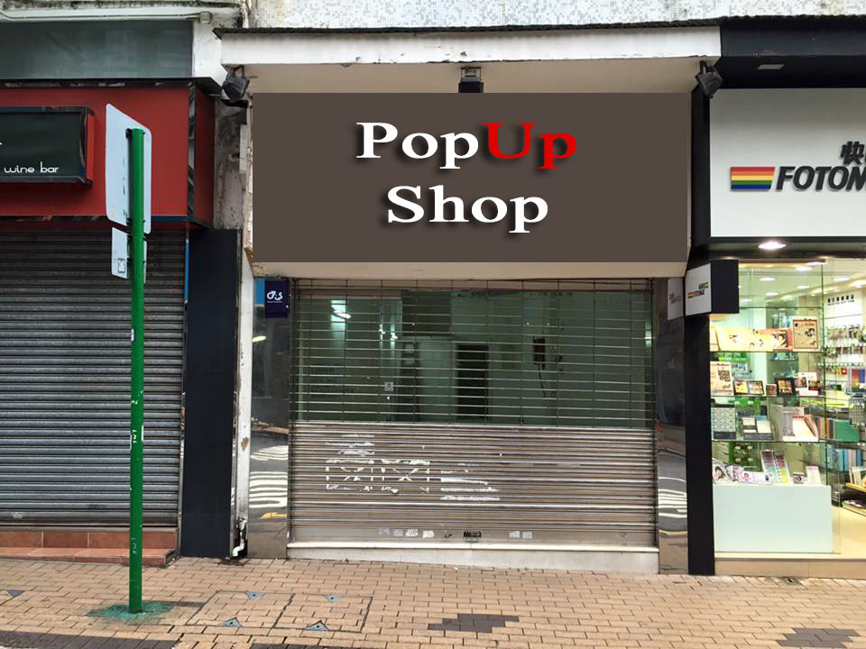 Street-Level Popup Shop at Happy Valley